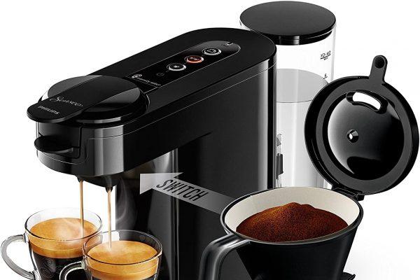 Los amantes del café suave encontrarán en las cafeteras con filtro de esta sección la solución