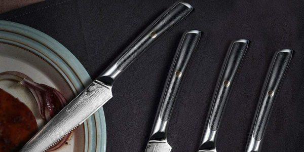 Si eres un amante de la carne, los cuchillos de bistec lograrán que disfrutes todavía más de este alimento