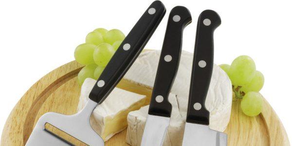 Los cuchillos de queso que te proponemos harán más deliciosas tus degustaciones de quesos