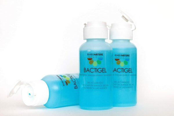 Geles desinfectantes higienizantes