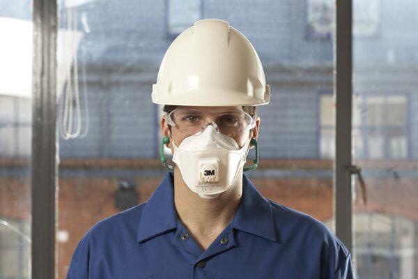 Mascarillas de prevención laboral