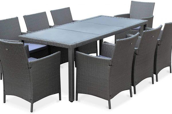 Encuentra las mesas de terraza que te harán lograr el espacio que deseas en tu terraza o jardín