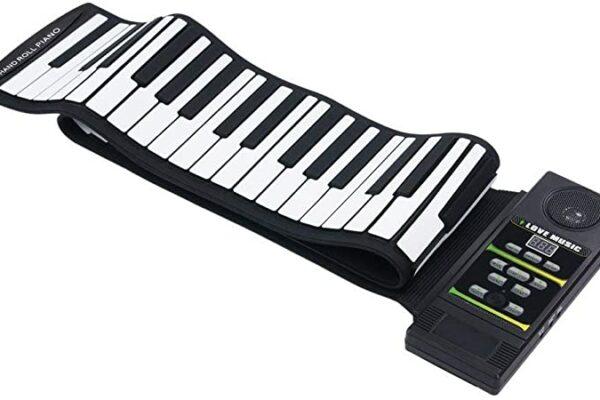 Pianos digitales enrollables