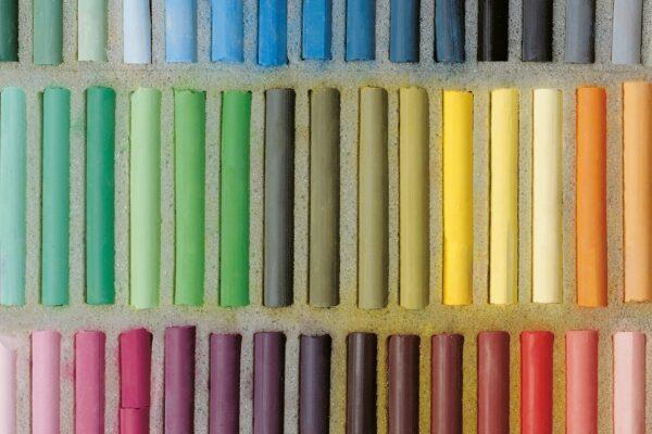 Pinturas pastel