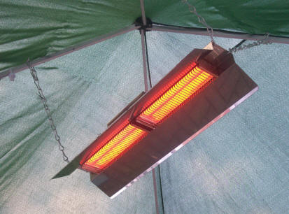 Radiadores infrarrojos