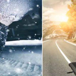 Diferencia entre neumáticos de invierno y verano