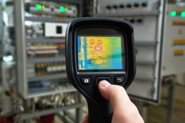 termómetro infrarrojos industrial