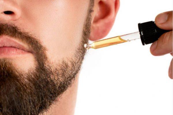 aceite para el cuidado de la barba