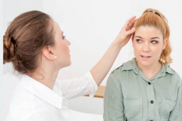 dermatólogo visita