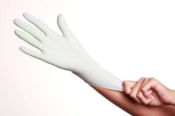 usar guantes