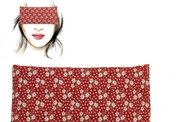 almohadillas para ojos con semillas