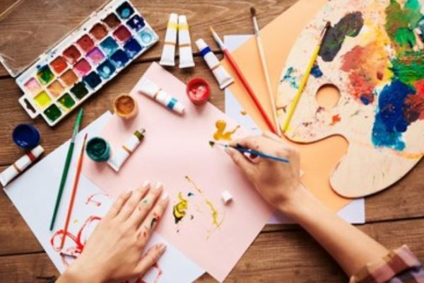 Pintura acrílica artística