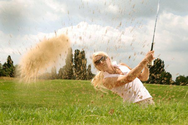Entrenamiento de golf