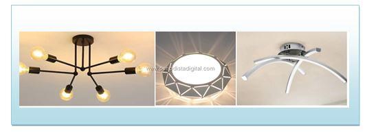 Lámparas LED de techo, desde 20 €