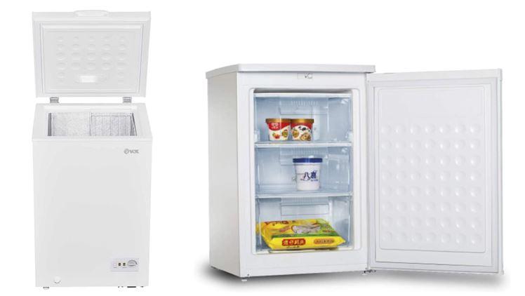 Arcones congeladores pequeños recomendados en Amazon
