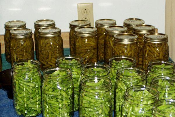 Conservas de verduras