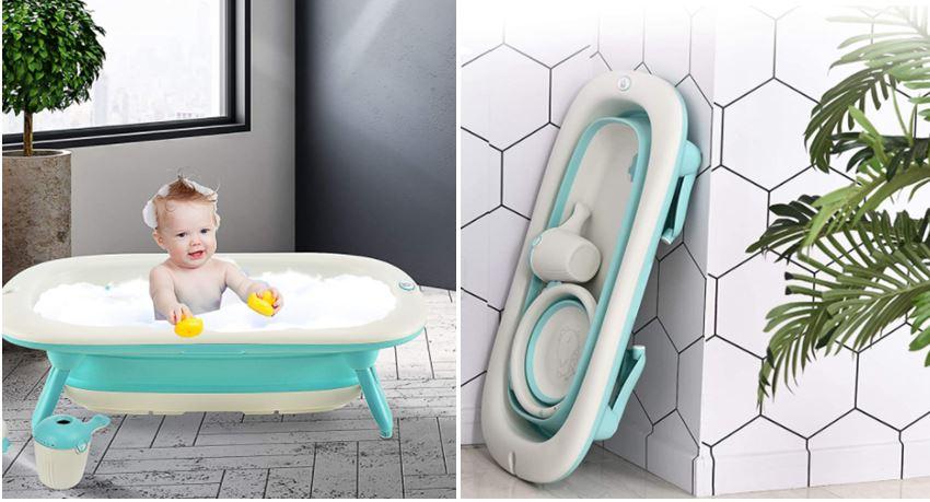 Bañeras plegables para bebé más vendidas en Amazon
