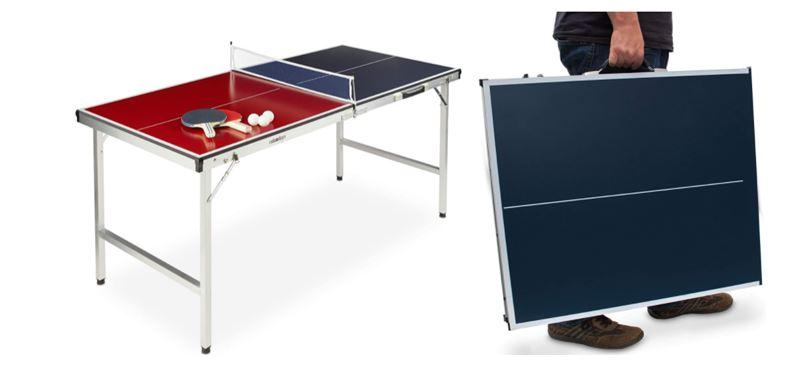 Mesas de ping pong plegables