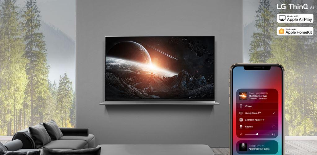 Televisiones con Airplay 2 integrado