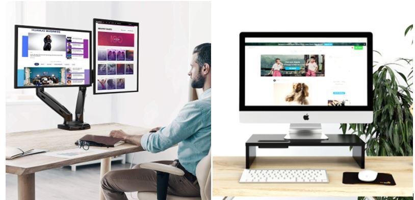 Soportes para monitores PC más vendidos en Amazon