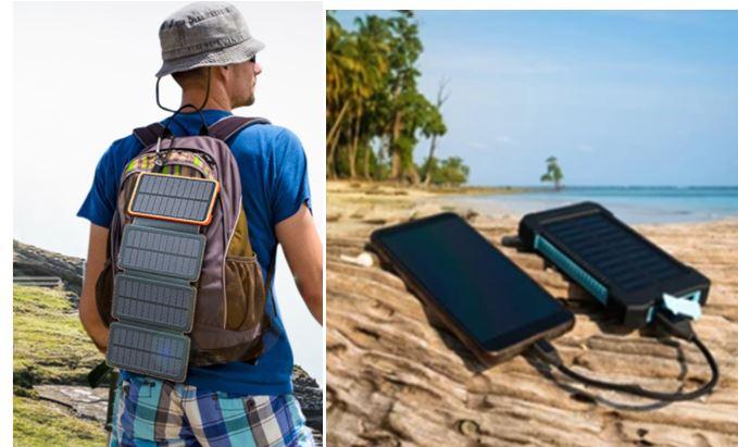 Cargadores solares potentes recomendados en Amazon