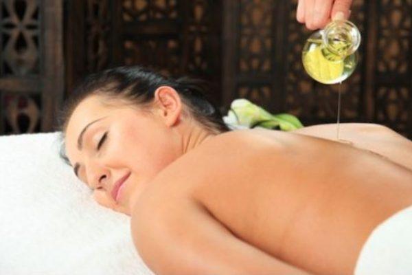 la aromaterapia para masajes