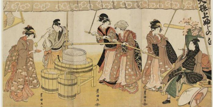 fabricacion del sake