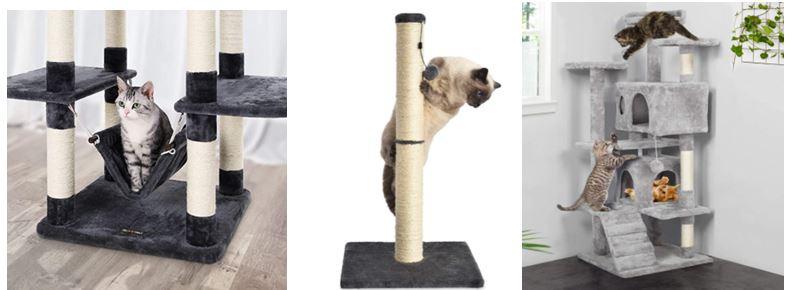 Árboles rascadores para gatos más vendidos de Amazon