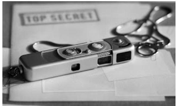 subminiatura de Minox, cámara espía