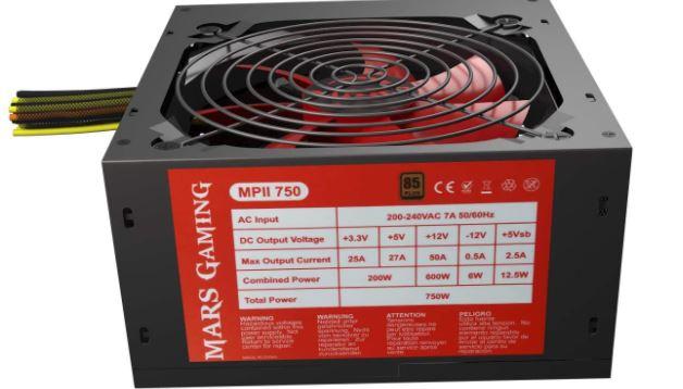 Mars MPII550 Gaming, fuente PC 550W,