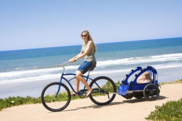 Remolques para bicicleta para llevar niños recomendados en Amazon