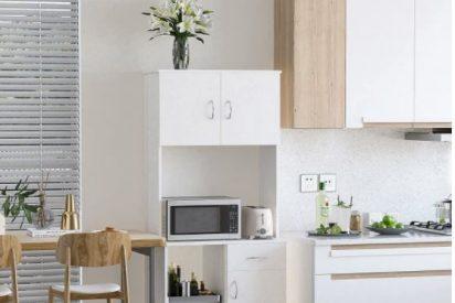 Muebles para microondas baratos,