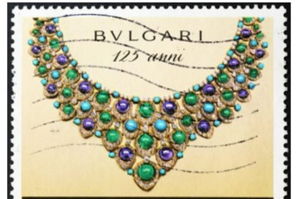 Bulgari marca lujo perfumes minitura