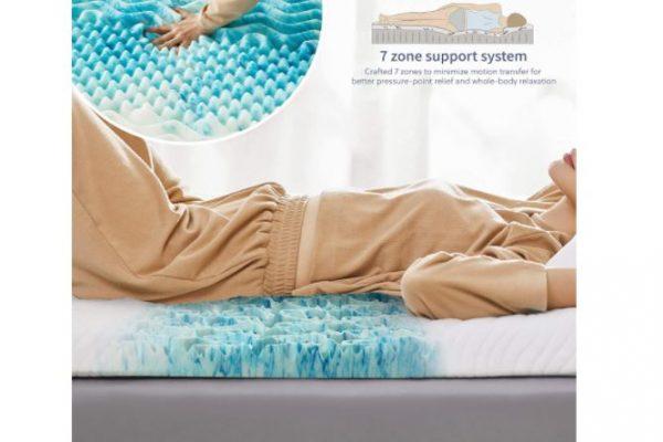 topper para dormir más fresco